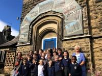 St Cuthbert's School Mosaic